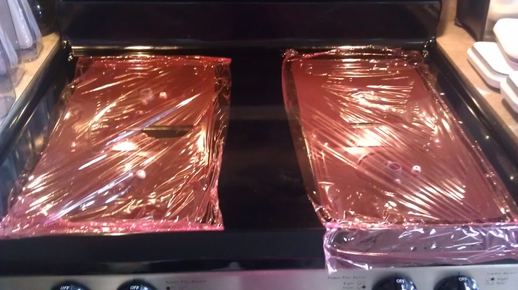 Use 1/4 cup amonia on each side of the gas stove, then covered with saran wrap to form a seal overnight. All burnt on garbage wipes right off. You can also use amonia for removing pan coating spray from muffin pans. Wipe on amonia on the pans and let it stand in a plastic bag overnight and the muffic pan will be clean.