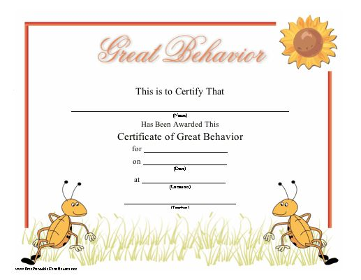 The 25+ Best Printable Certificates Ideas On Pinterest | Free