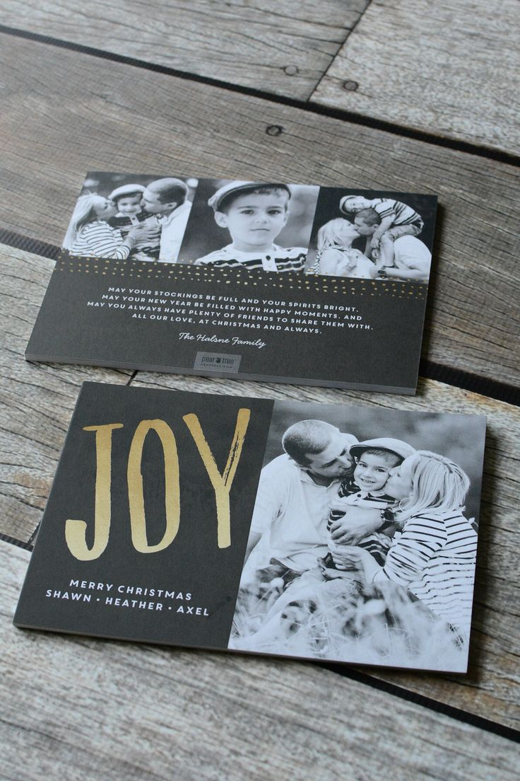A Christmas Card That Sums Up The JOY Of Holiday Season Front