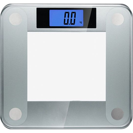 Precision II Digital Bathroom Scale (440 lbs Capacity), with Weight Change Detection Technology