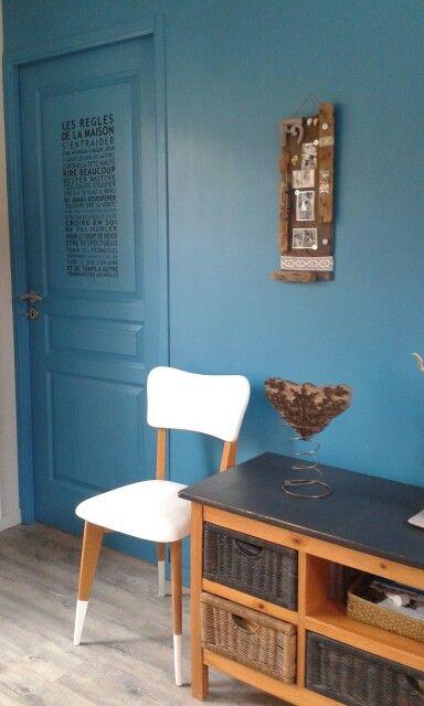 Chaise vintage relook e salle manger pinterest for Table 7 et 8