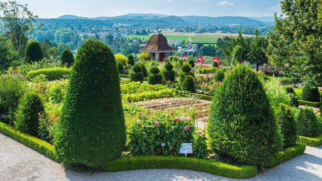 Garten vom Schlosspark, Wildegg
