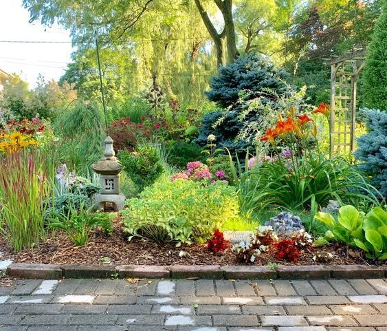 21 Years Of Hard Gardening Work Pay Off Finegardening Fine Gardening Magical Garden Different Plants