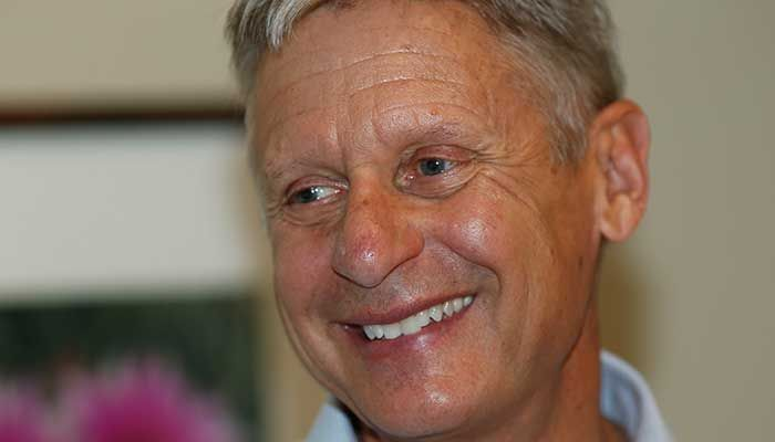 On Thursday, Oct. 6, 2016, Yahoo Global News Anchor Katie Couric sits down with the Libertarian Party's presidential candidate, former N.M. governor Gary Johnson. The two discuss the 2016 race for the White House and what the Libertarian party has to offer that differs from the Democrat and Republican