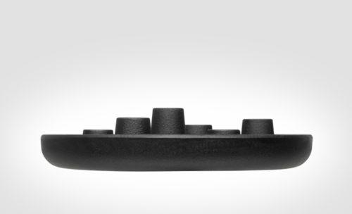 Boat, wood, paint, black, matte