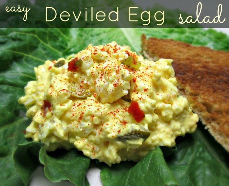 Easy deviled egg salad recipe deviled egg salad the o for How to make homemade deviled egg potato salad