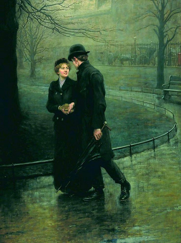 """Take her for a walk """"The Cabby and his London Lady"""""""