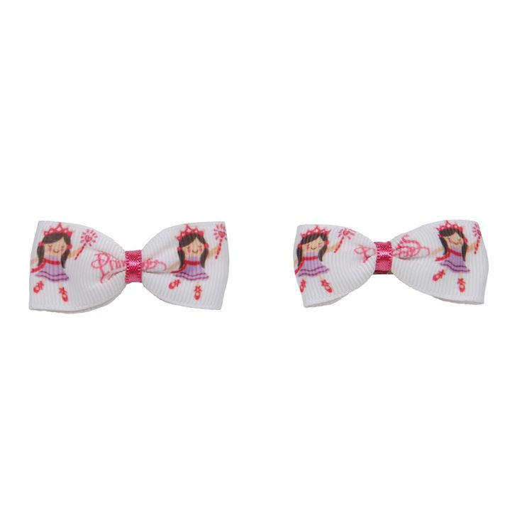 Classy Crafting | Beautiful handmade Blankets, Cardigans and Hair Accessories  - Princess Bow Hair Clips, £3.00 (http://www.classycrafting.com/princess-bow-hair-clips/)