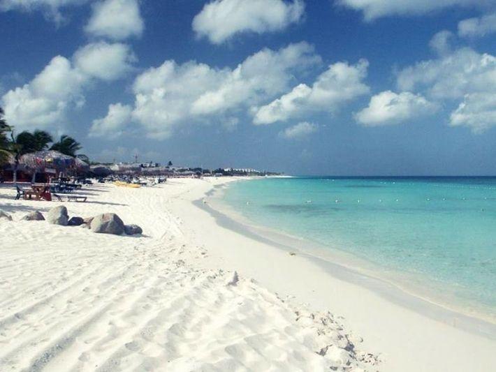 Plaža Orla, Aruba, Karibi