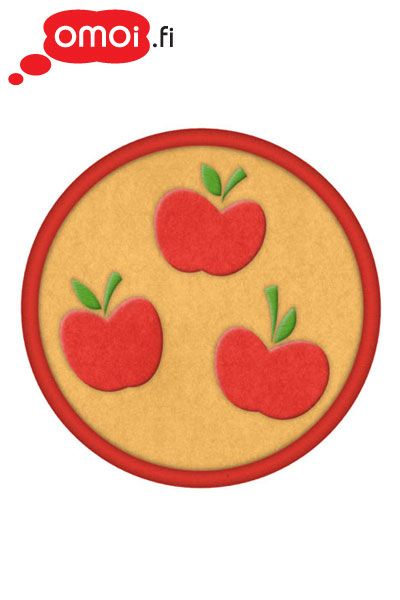 My Little Pony My Little Pony Apple Jack cutie mark patch - 5,50EUR : Manga Shop for Europe, A great selection of anime products
