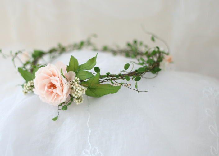 ウェディングの演出 花嫁のアクセサリ : 一会 ウエディングの花