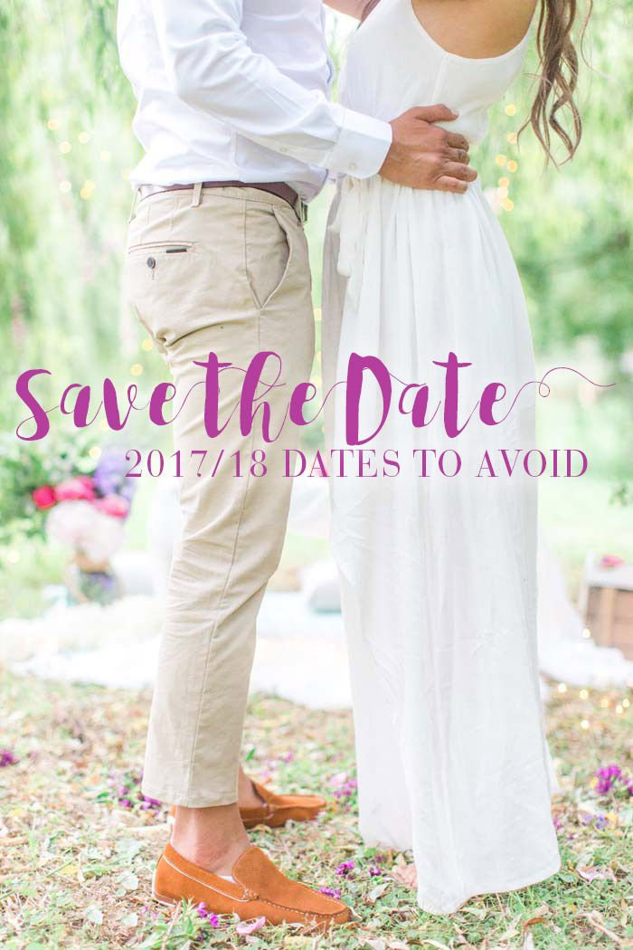 433 best modern wedding blog images on pinterest wedding blog wedding dates to avoid in 2017 and 2018 junglespirit Choice Image