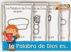 Resultado de imagen para versiculos mes de la biblia para niños manualidades