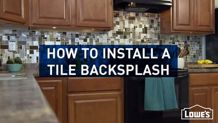 How To Install Kitchen Tile Backsplash Fair Design 2018