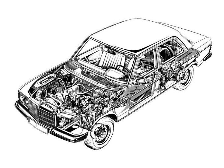 autocad MERCEDES car model - Google 搜尋