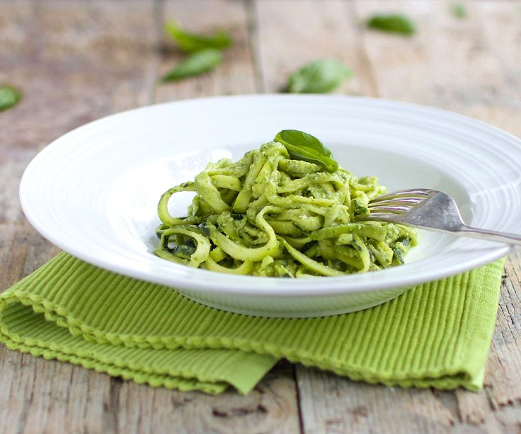 The Kiwi Cook | Zucchini 'Pasta' with Basil