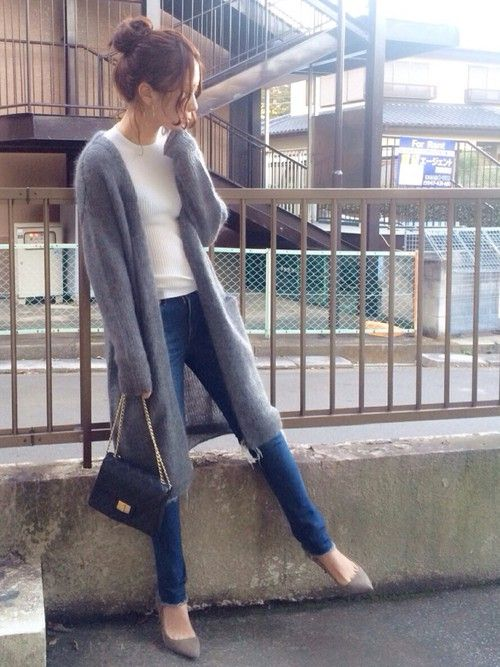 shiho│Deuxieme Classeのカーディガンコーディネート-WEAR