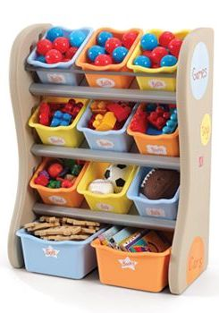 perfect way to organize and store toys