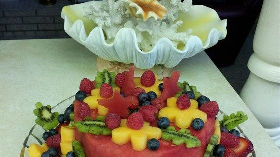 1000 Ideas About Fruit Cake Watermelon On Pinterest
