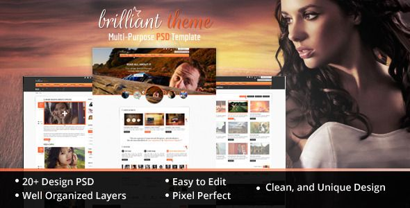 Shopping Brilliant Theme Creative Unique PSD Themein each seller & make purchase online for cheap. Choose the best price and best promotion as you thing Secure Checkout you can trust Buy best