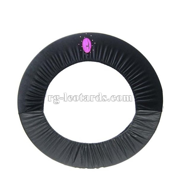 rhythmic gymnastics hoop cover  http://rg-leotards.com/
