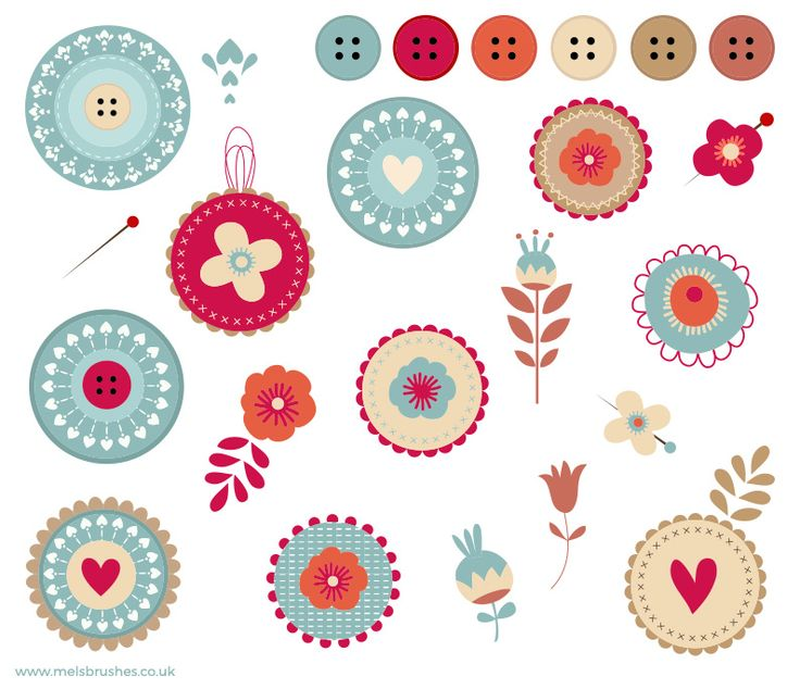 Get these vector floral badges free at my blog http://www.melsbrushes.co.uk/free-floral-badges-buttons-vector-clipart/