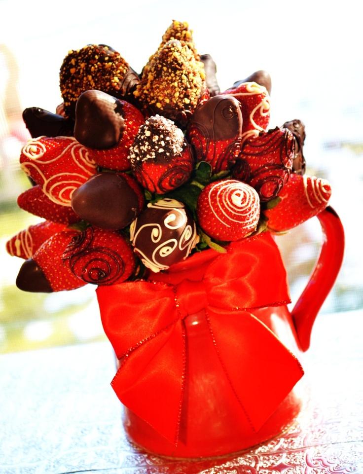 43 best Fresh fruit bouquets images on Pinterest   Edible bouquets ...
