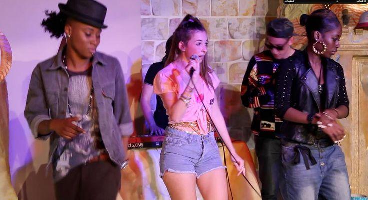 Performing at Frieze Art Fair