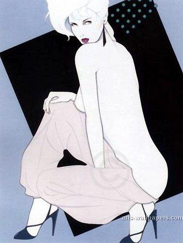 Patrick Nagel Poster, Art Print, Gallery