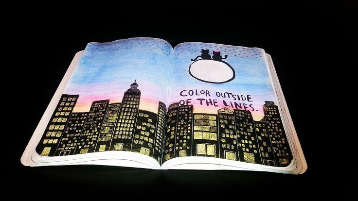 Wreck this journal ideas: Photo
