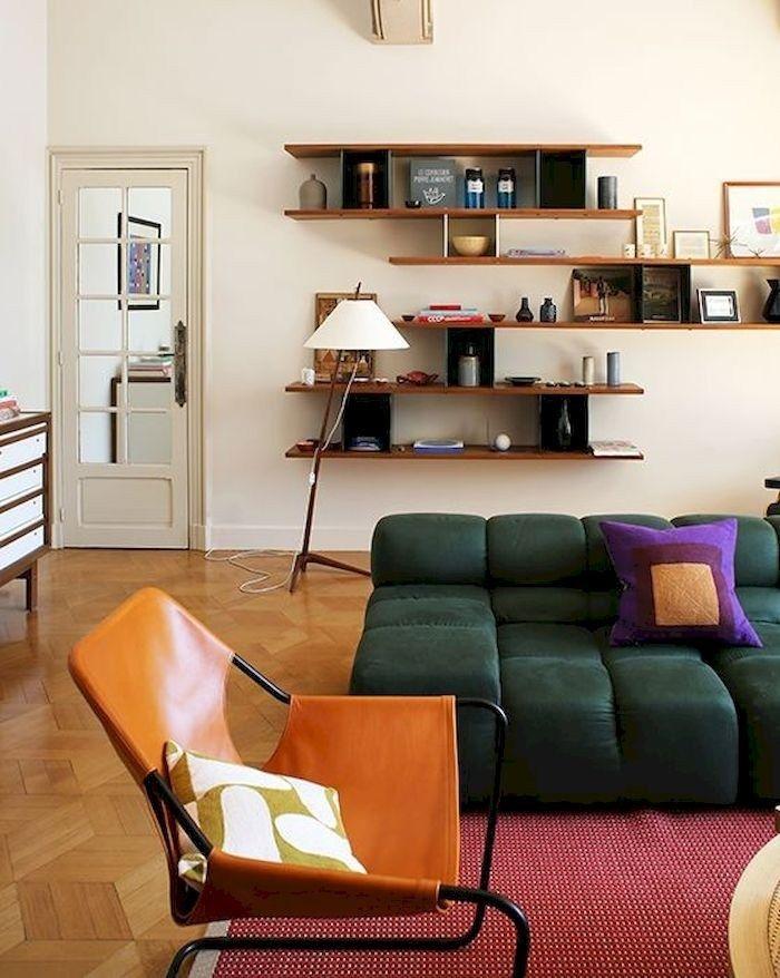 Simple But Useful Living Room Shelving Ideas 29 Crunchhome Living Room Interior Interior Design House Interior
