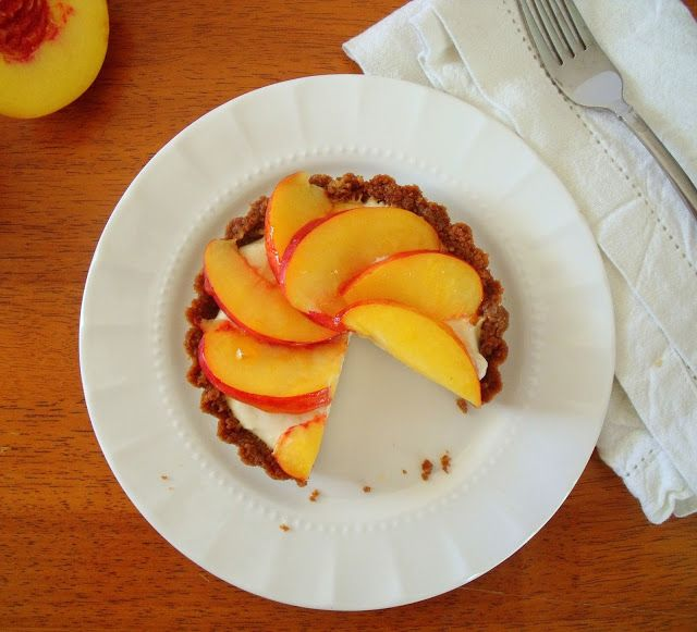Nectarine, Mascarpone & Gingersnap Tartlets | Recipe ...