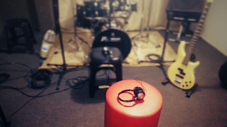 Sala de gravação!