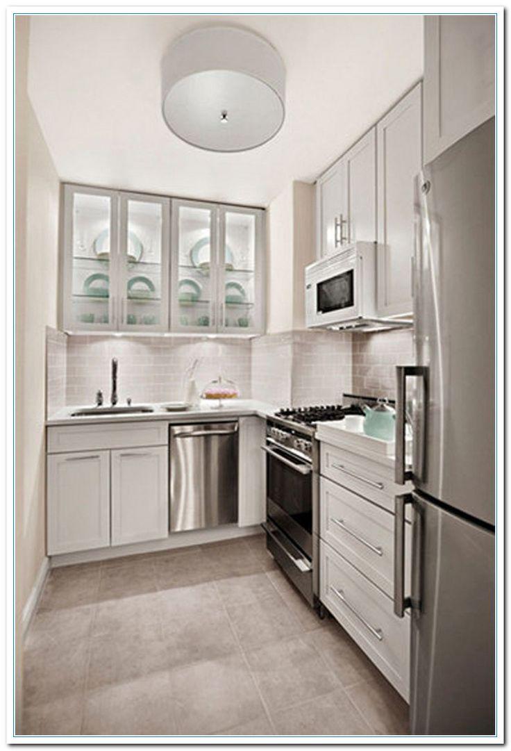 Stylish Small Kitchen Layout Ideas with 9 Great Mandatory Tiny ...