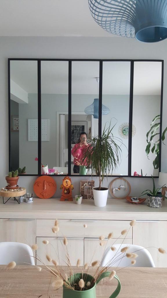 Un Miroir Verriere A Moins De 100 En 2020 Miroir Verriere Miroir Verriere Diy Miroir Atelier