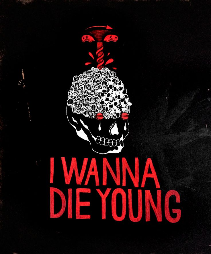 I WANNA DIE YOUNG / 2015