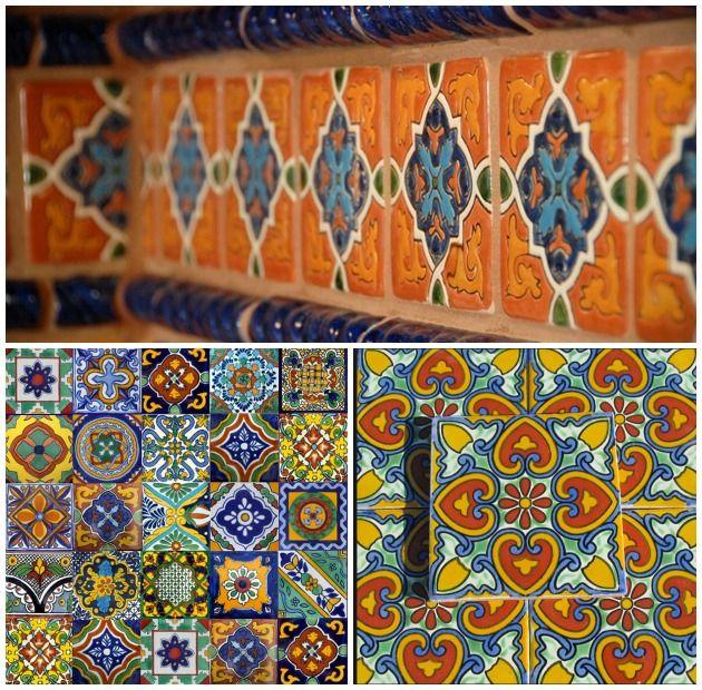 The beautiful patterns of Talavera Tiles   Paint + Pattern