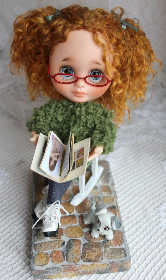 Katty  - Ooak custom blyh doll