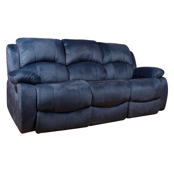 Best Arena Sx 8775 3 3 Seater Blue Manual Recliner Relax In 640 x 480