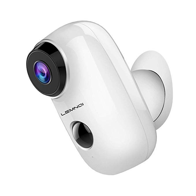 Lemnoi Wireless Battery Security Camera 2 4ghz Wifi Wire Free Security Camera Hd F Home Security Systems Wireless Home Security Systems Wireless Home Security