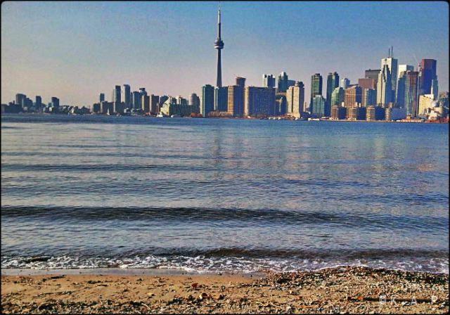 City view, Toronto skyline, Ward's Island