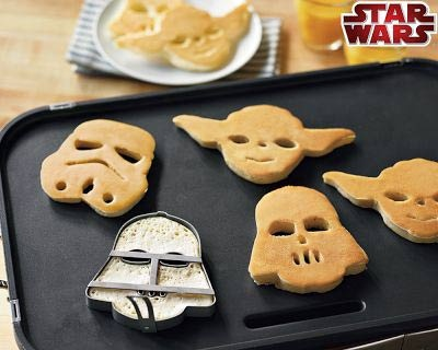 who doesn't want to start the day with a yoda pancake?