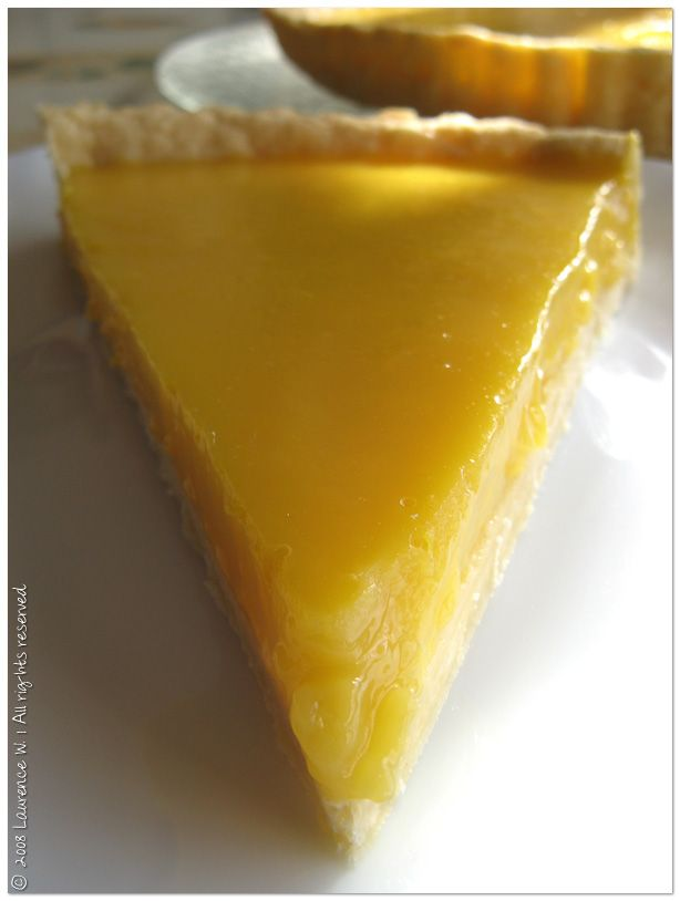 Délicieuse tarte à l'orange facile (à décliner en tarte au citron)