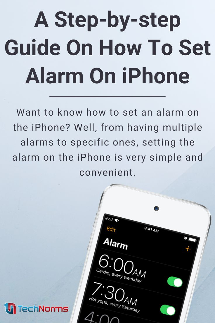 A Step-by-step Guide On How To Set Alarm On iPhone in 2021 ...