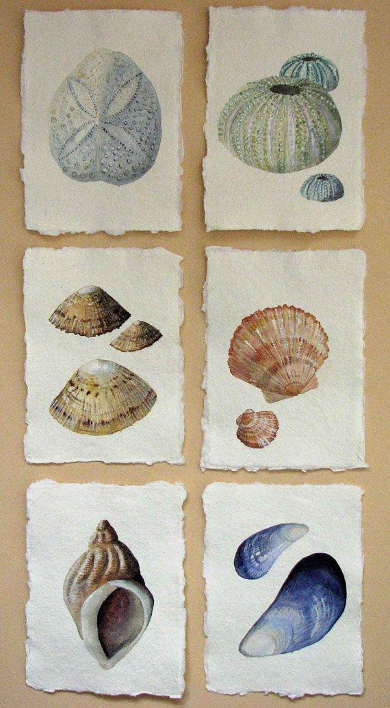 Original watercolour illustration art painting by SeasideStudiosUK, £15.00