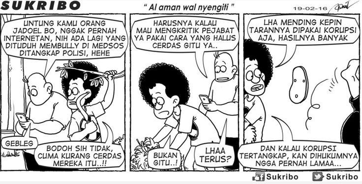 Kartun Kompas Minggu, 21 Februari 2016: Sukribo