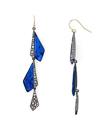 Alexis Bittar Crystal Encrusted Drop Earrings - on #sale 25% off @ #Bloomingdale's  #AlexisBittar