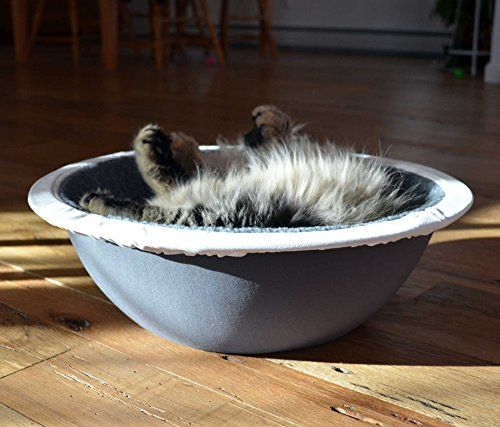 The Hepper Nest Bed is designed with the modern pet in mind. Your cats or pups will love that it's the perfect shape for curling up for a snooze and you'll love that it looks great in your home. The ...