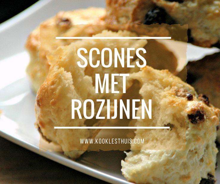 Het lekkerste recept voor scones mét (of zonder) rozijnen. Dit recept gebruikt traditioneel karnemelk waardoor je scones lekker fris smaken!