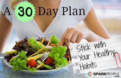 30 Days and 30 Ways to Stay on Track via @SparkPeople